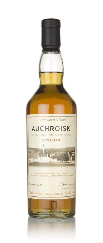 Auchroisk 16 Year Old - The Managers Dram Single Malt Whisky