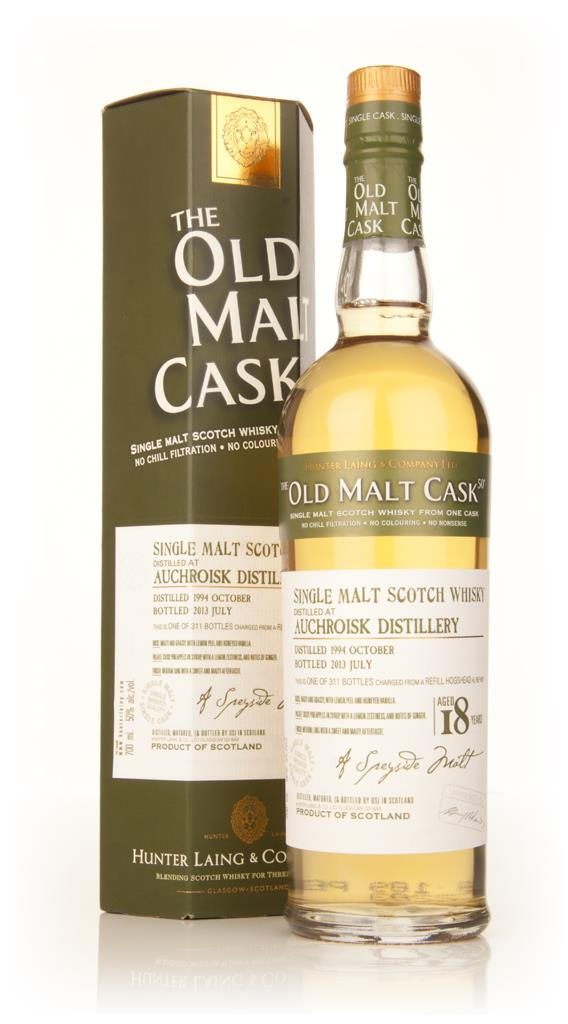 Auchroisk 18 Year Old 1994 (cask 9877) - Old Malt Cask (Hunter Laing) Single Malt Whisky