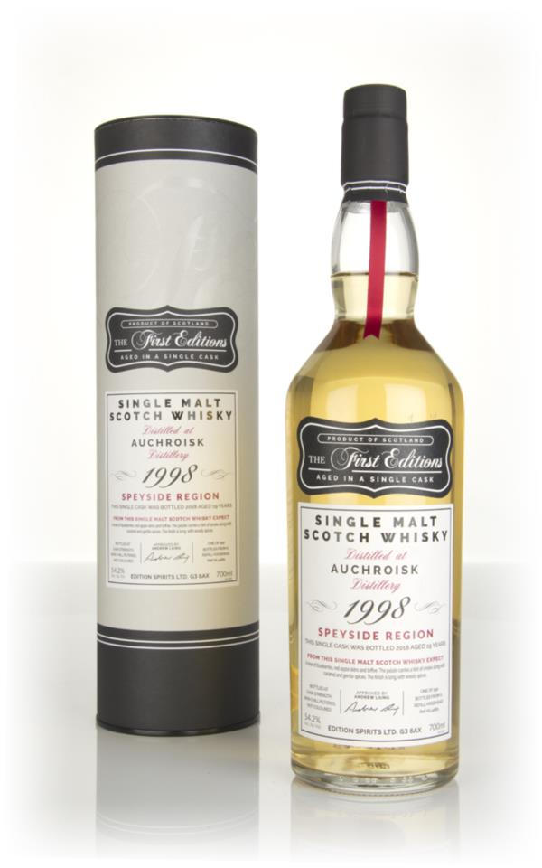 Auchroisk 19 Year Old 1998 (cask 14661) - The First Editions (Hunter L Single Malt Whisky