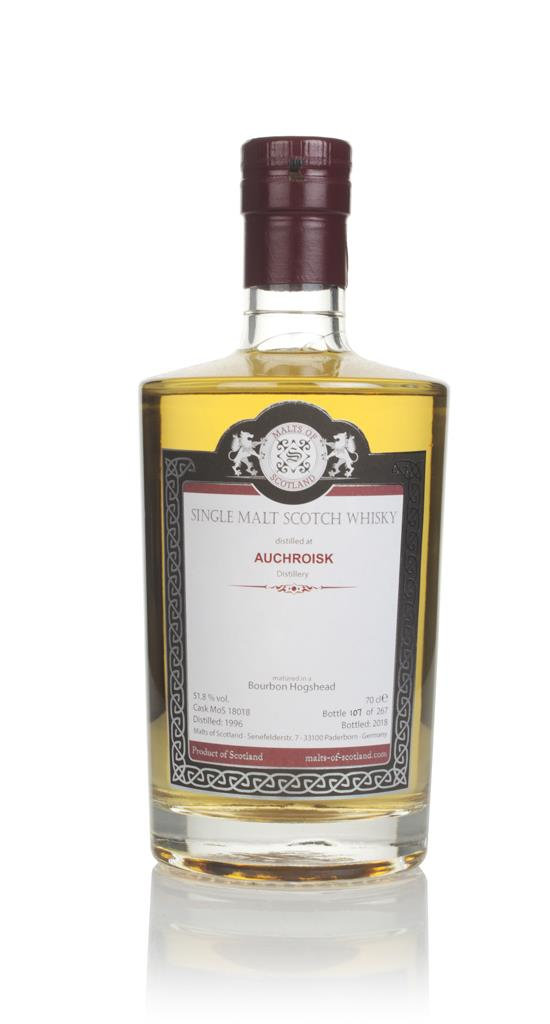 Auchroisk 1996 (bottled 2018) (cask 18018) - Malts of Scotland Single Malt Whisky
