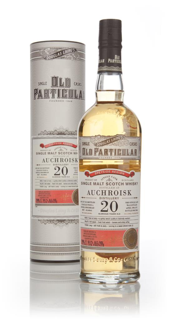 Auchroisk 20 Year Old 1994 (cask 10341) - Old Particular (Douglas Lain Single Malt Whisky