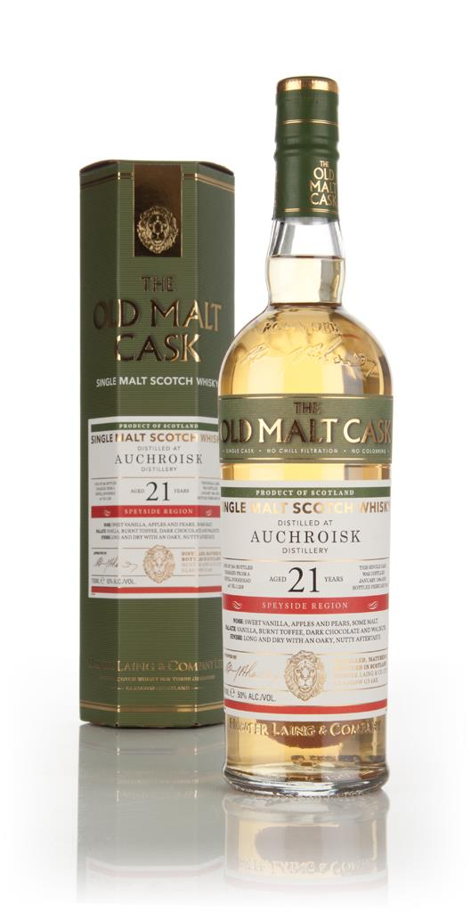 Auchroisk 21 Year Old 1994 (cask 11238) - Old Malt Cask (Hunter Laing) Single Malt Whisky