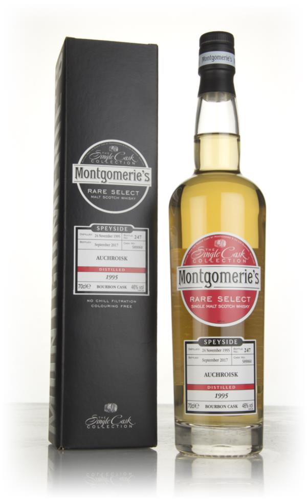 Auchroisk 21 Year Old 1995 (cask 589060) - Rare Select (Montgomeries) Single Malt Whisky