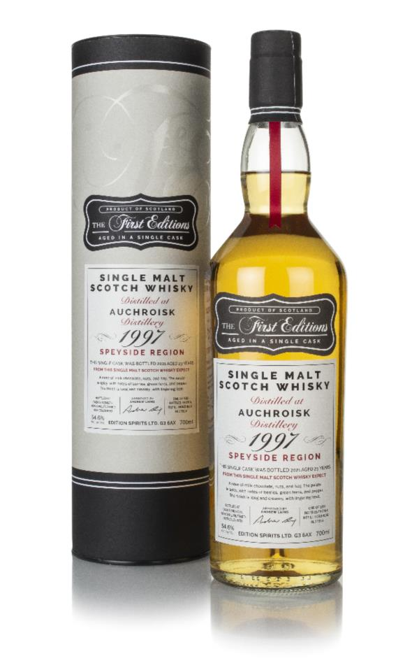 Auchroisk 23 Year Old 1997 (cask 17814) - The First Editions (Hunter L Single Malt Whisky