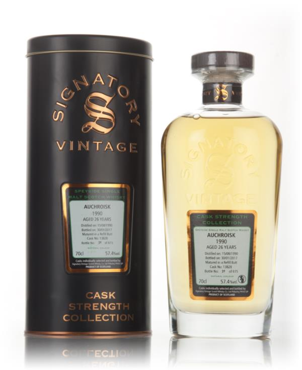 Auchroisk 26 Year Old 1990 (cask 13828) - Cask Strength Collection (Si Single Malt Whisky 3cl Sample