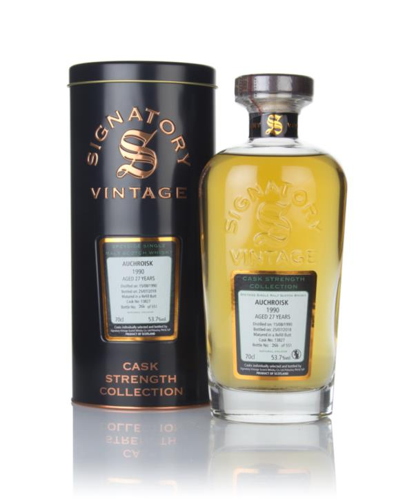 Auchroisk 27 Year Old 1990 (cask 13827) - Cask Strength Collection (Si Single Malt Whisky