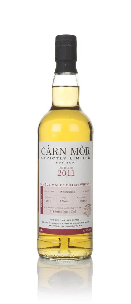 Auchroisk 7 Year Old 2011 - Strictly Limited (Carn Mor) Single Malt Whisky