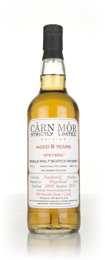 Auchroisk 8 Year Old 2009 - Strictly Limited (Carn Mor) Single Malt Whisky