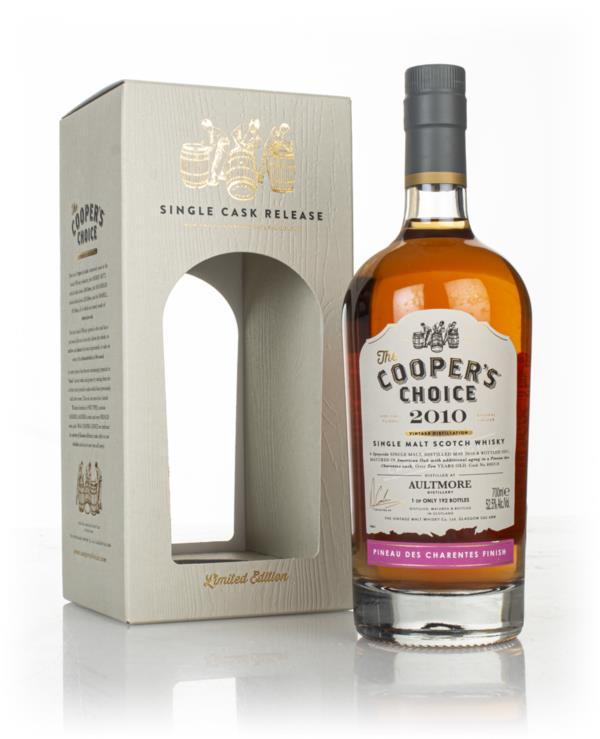 Aultmore 10 Year Old 2010 (cask 800318) - The Coopers Choice (The Vin Single Malt Whisky