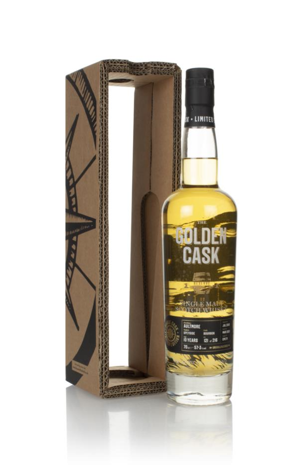 Aultmore 10 Year Old 2010 (cask CM271) - The Golden Cask (House of Mac Single Malt Whisky