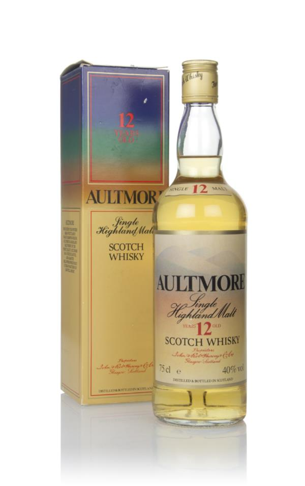 Aultmore 12 Year Old - 1980s Single Malt Whisky