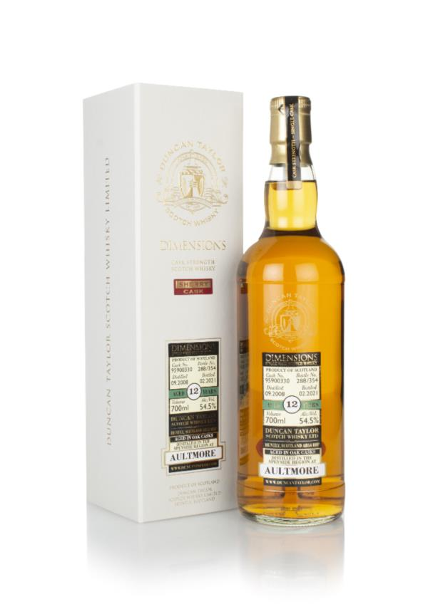 Aultmore 12 Year Old 2008 (cask 95900330) - Dimensions (Duncan Taylor) Single Malt Whisky
