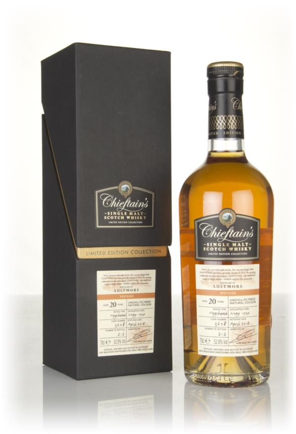 Aultmore 20 Year Old 1997 (cask 3608) - Chieftains (Ian Macleod) Single Malt Whisky
