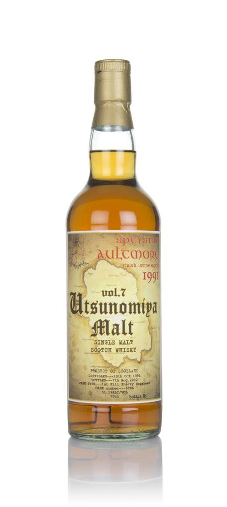 Aultmore 21 Year Old 1991 (Three Rivers) Single Malt Whisky