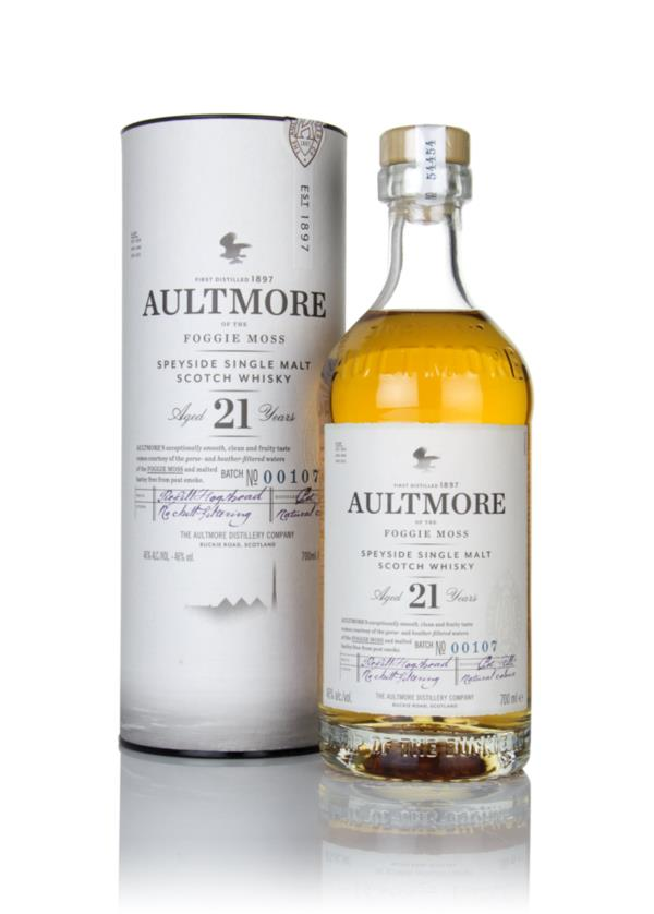 Aultmore 21 Year Old Single Malt Whisky