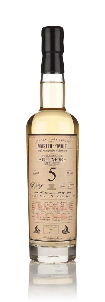 Aultmore 5 Year Old 2009 - Single Cask (Master of Malt) Single Malt Whisky