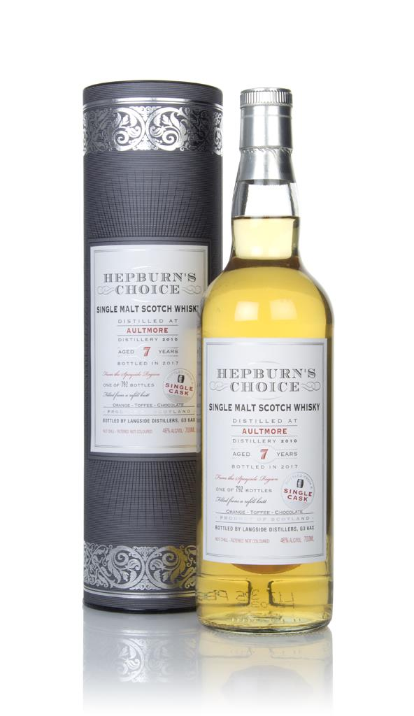 Aultmore 7 Year Old 2010 - Hepburns Choice (Langside) Single Malt Whisky