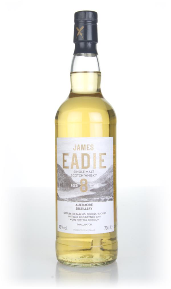 Aultmore 8 Year Old 2010 (casks 800025 & 800027) - Small Batch (James Single Malt Whisky