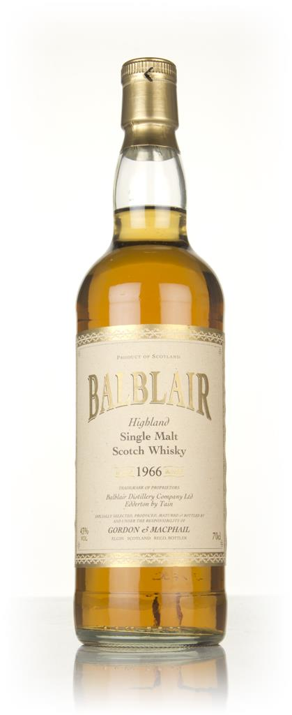 Balblair 40 Year Old 1966 (Gordon & MacPhail) Single Malt Whisky