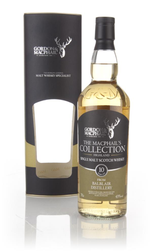 Balblair 10 Year Old (Gordon and Macphail) Single Malt Whisky
