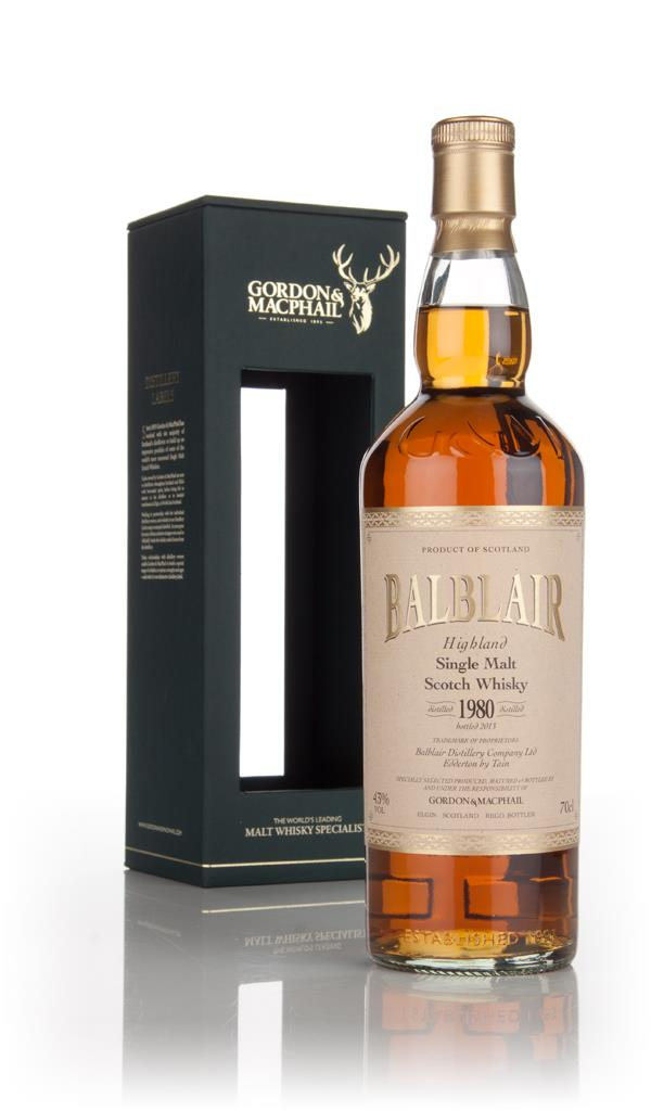 Balblair 1980 (bottled 2013) (Gordon & MacPhail) Single Malt Whisky