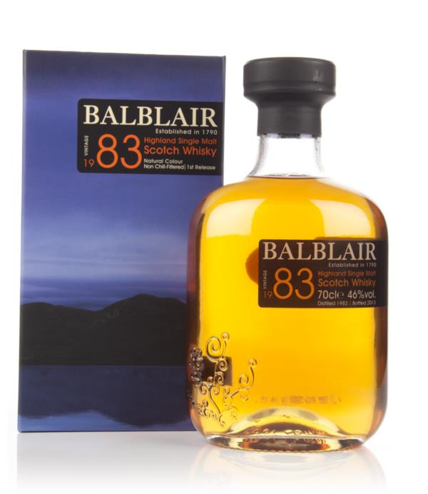 Balblair 1983 - 1st Release 3cl Sample Single Malt Whisky
