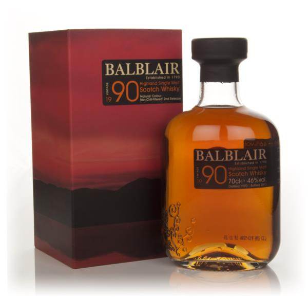 Balblair 1990 - 2nd Release Single Malt Whisky