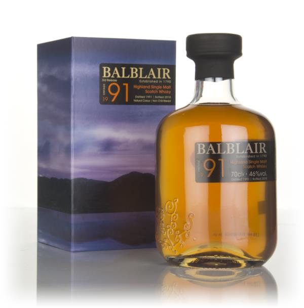 Balblair 1991 (bottled 2018) Single Malt Whisky