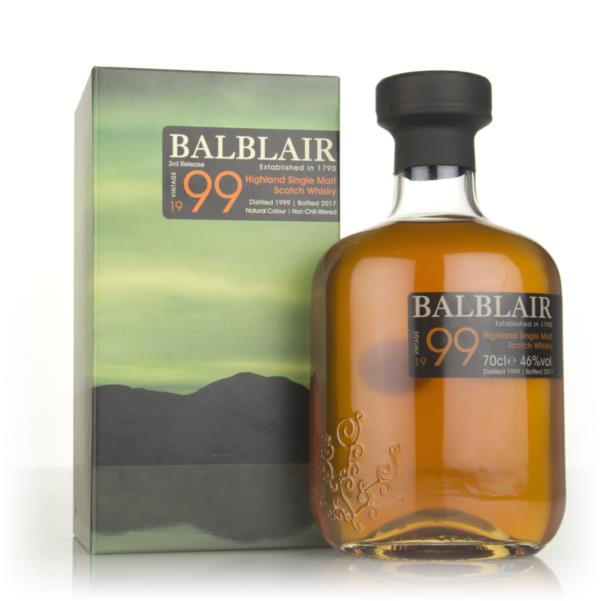 Balblair 1999 - 2nd Release Single Malt Whisky