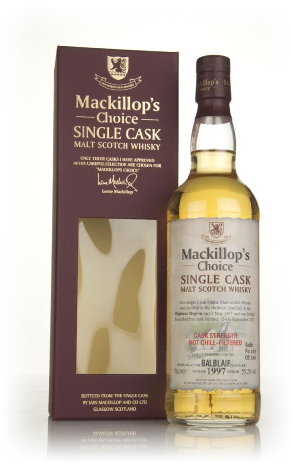 Balblair 20 Year Old 1997 (cask 124) - Mackillop's Choice 3cl Sample Single Malt Whisky