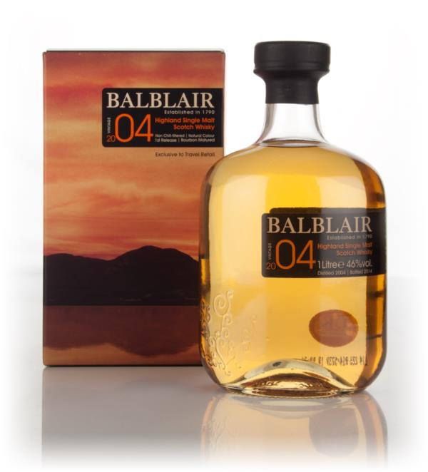 Balblair 2004 - 1st Release Single Malt Whisky