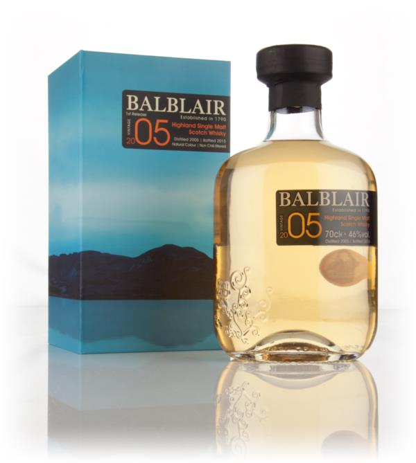 Balblair 2005 - 1st Release Single Malt Whisky