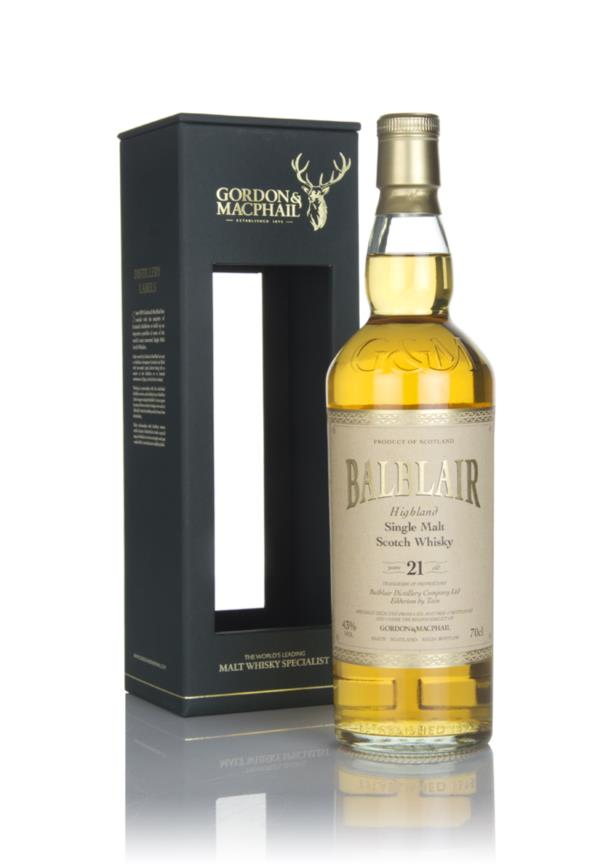 Balblair 21 Year Old (Gordon & MacPhail) Single Malt Whisky