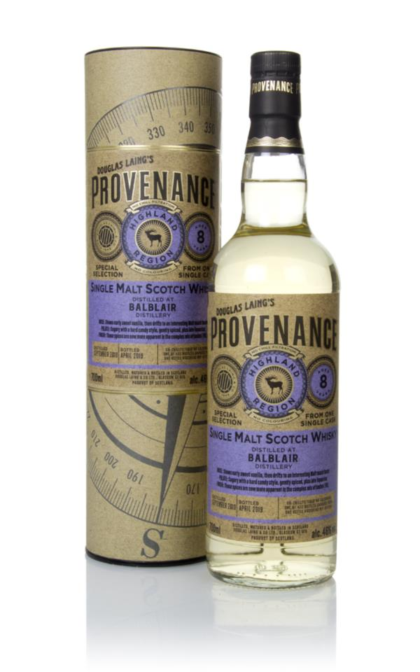 Balblair 8 Year Old 2010 (cask 13291) - Provenance (Douglas Laing) Single Malt Whisky