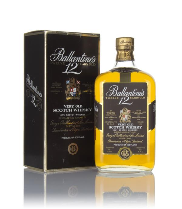 Ballantines 12 Year Old (94.5cl) - 1970s Blended Whisky