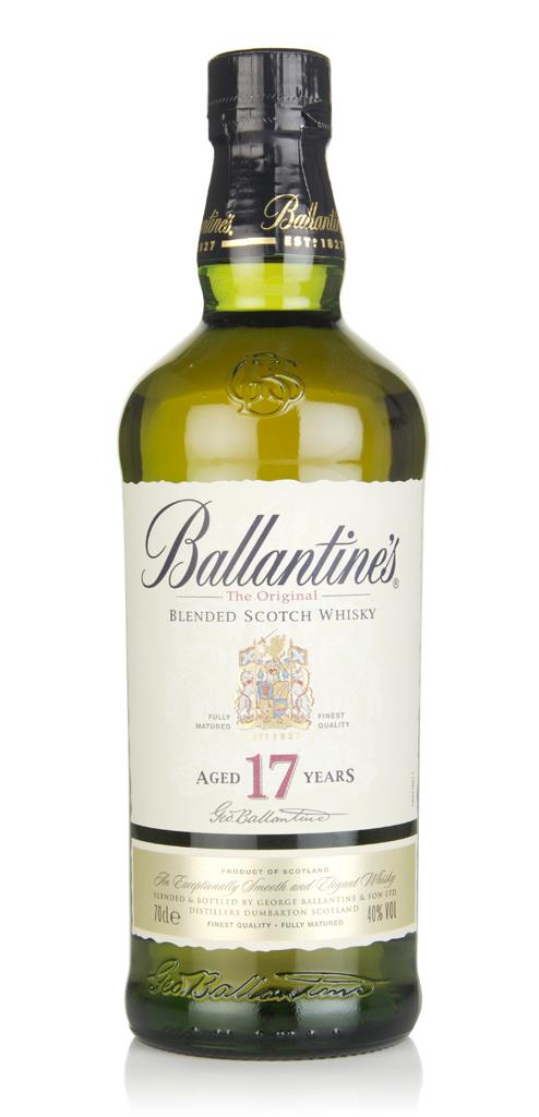 Ballantines 17 Year Old 40% Blended Whisky