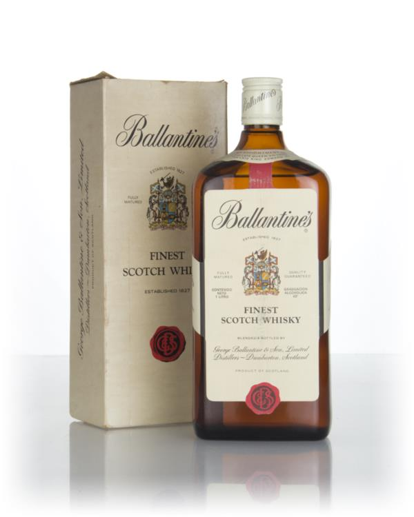 Ballantines Finest 1L (Boxed) - 1970s Blended Whisky