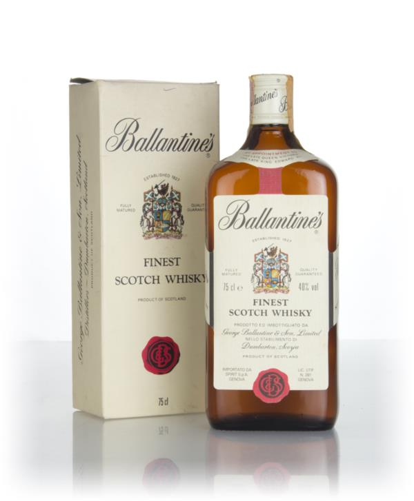 Ballantines Finest (75cl) - 1980s Blended Whisky