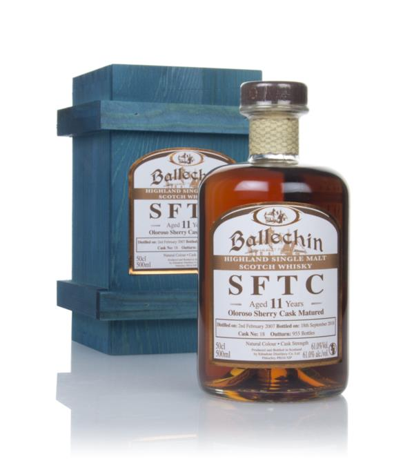 Ballechin 11 Year Old 2007 (cask 18) - Straight From The Cask Single Malt Whisky