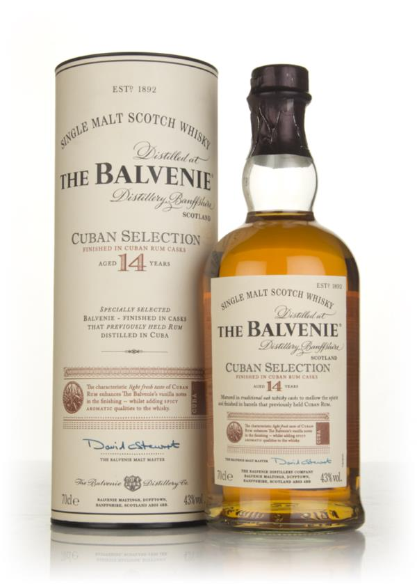 Balvenie 14 Year Old Cuban Selection Single Malt Whisky