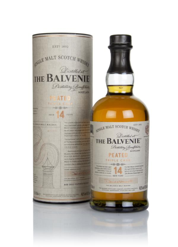 Balvenie 14 Year Old Peated Triple Cask Single Malt Whisky