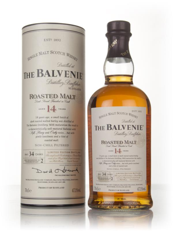 Balvenie 14 Year Old Roasted Malt Single Malt Whisky
