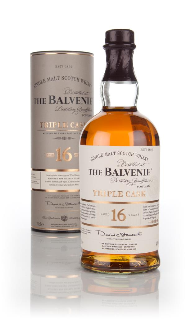 Balvenie 16 Year Old Triple Cask Single Malt Whisky