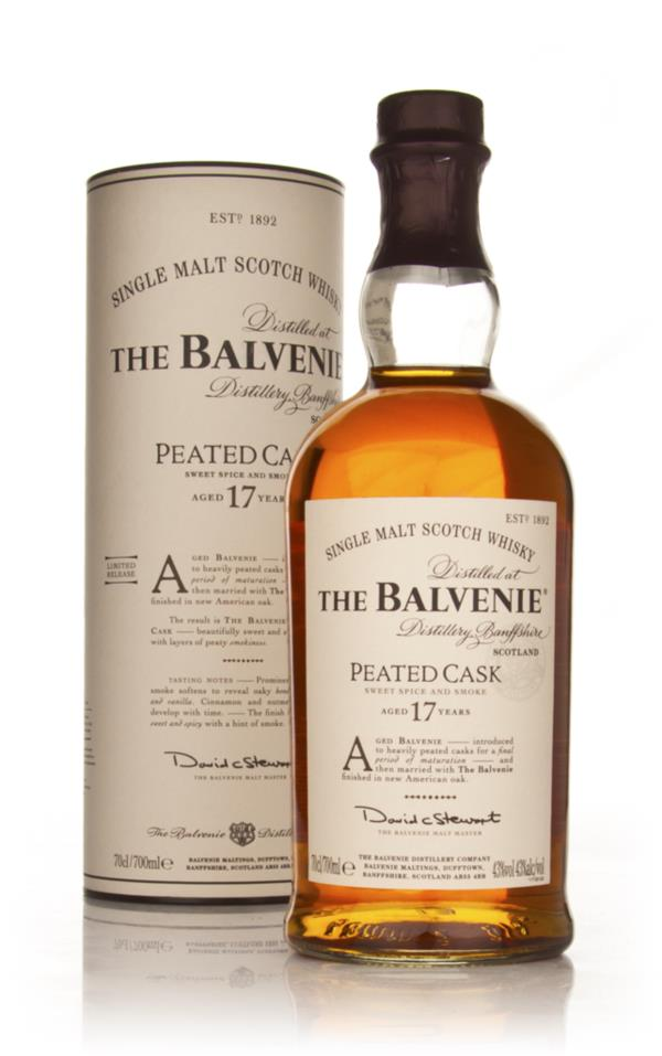 Balvenie 17 Year Old Peated Cask Single Malt Whisky