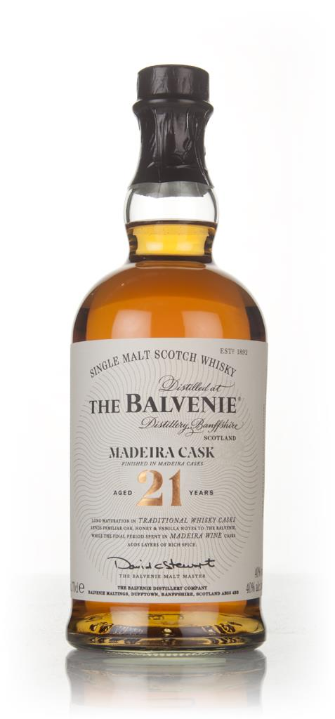 Balvenie 21 Year Old Madeira Cask Finish Single Malt Whisky