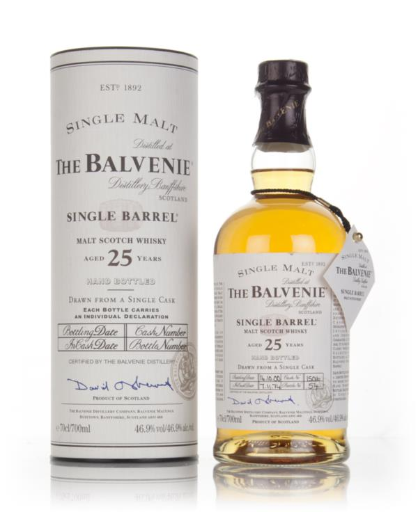 Balvenie 25 Year Old 1974 (cask 15016) Single Malt Whisky