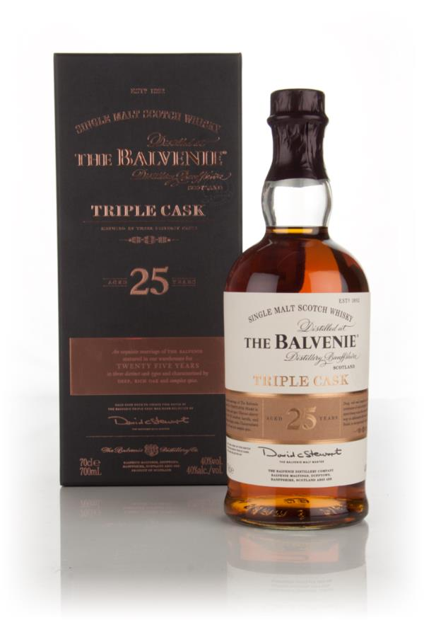 Balvenie 25 Year Old Triple Cask 3cl Sample Single Malt Whisky
