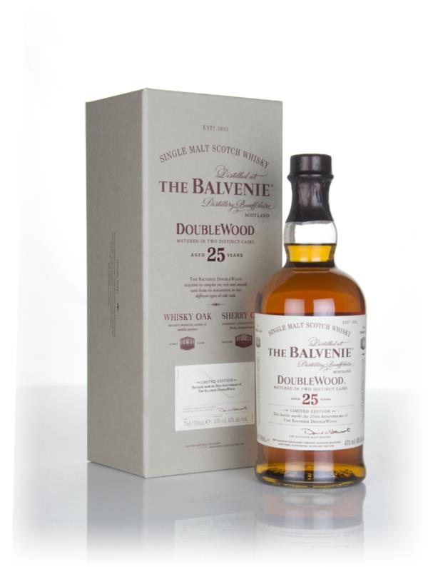 Balvenie DoubleWood 25 Year Old 3cl Sample Single Malt Whisky