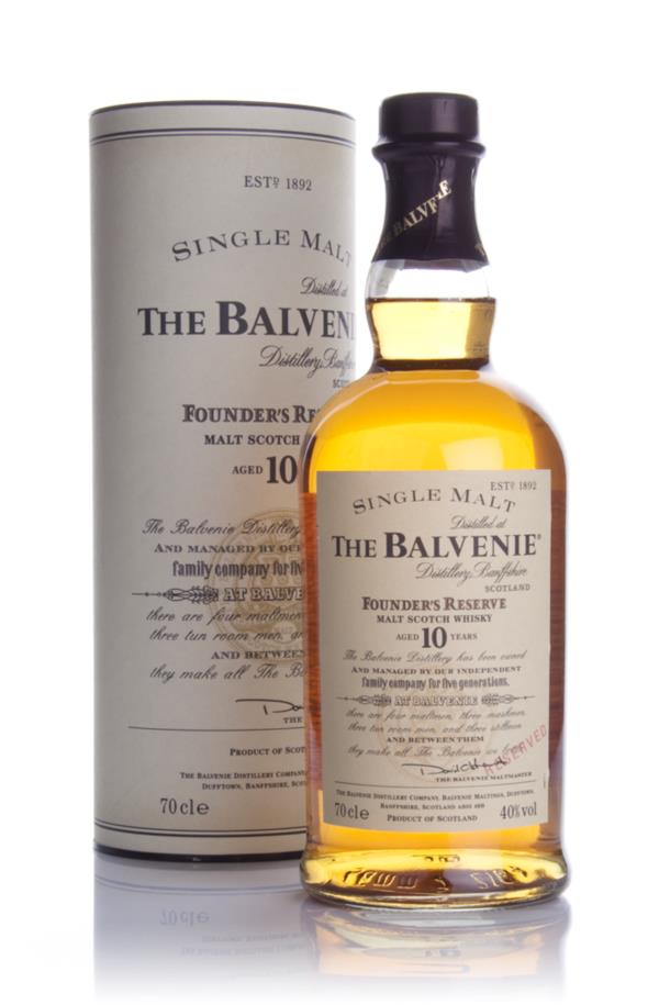Balvenie Founders Reserve 10 Year Old 3cl Sample Single Malt Whisky