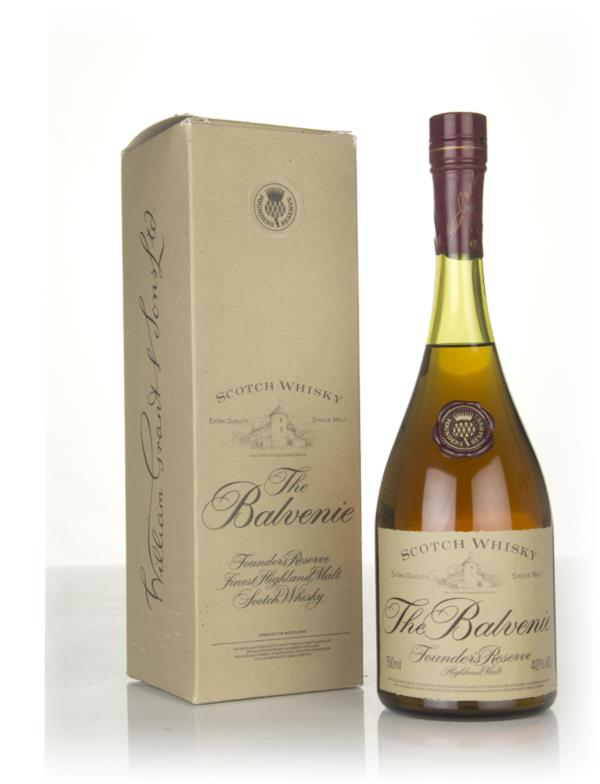 Balvenie Founders Reserve - Cognac Bottle (75cl) (with box) Single Malt Whisky